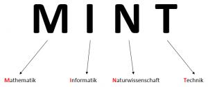 MINT: Mathematik - Informatik - Naturwissenschaft - Technik