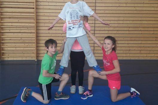 Akrobatik in der 3a