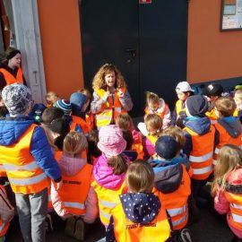 Unsere Klassen 2a und 2b im Müllheizkraftwerk
