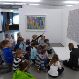 Klasse 3a und 3b zu Besuch im Kulturspeicher in Würzburg