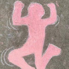 Kunstprojekt zu Keith Haring in der 3b